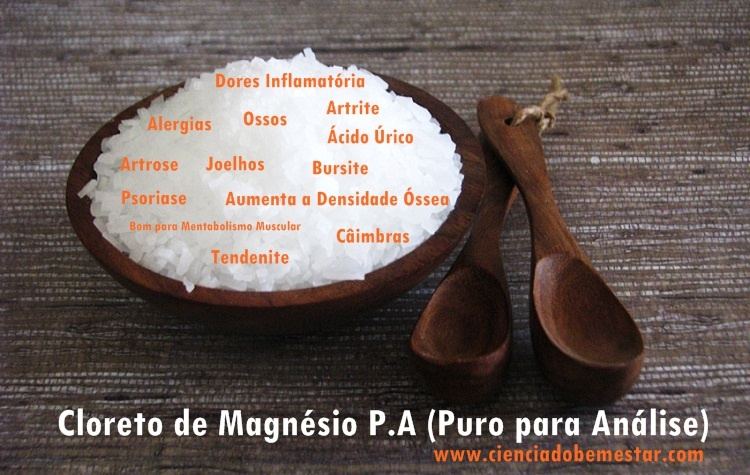 cloreto-de-magnésio