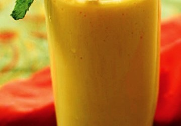 leite de soja com maracujá